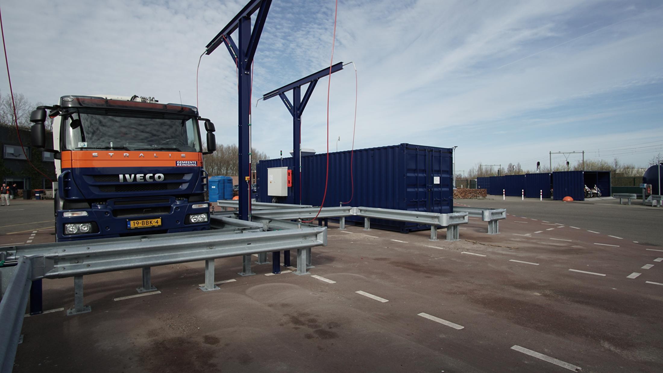 CNG installatie Holugt Den Bosch