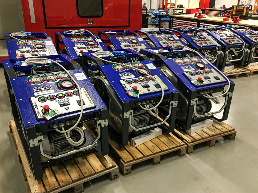MCH13 Custom Compressoren voor Peru