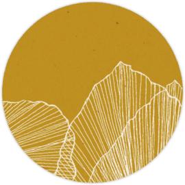 Sluitzegel abstract blad