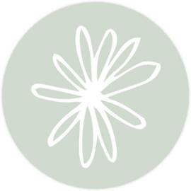 Sluitzegel bloem