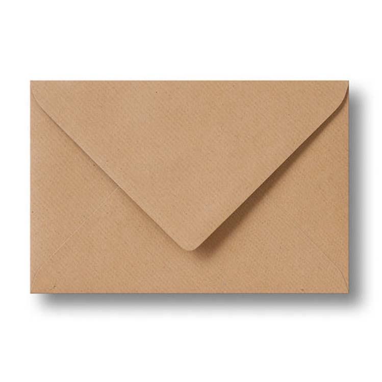 Enveloppen Kraftpapier (13 x 18 cm)