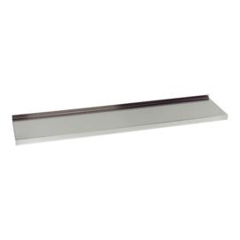 Wandplank - met achteropstand, diepte 30 cm
