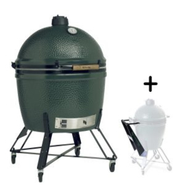 Big Green Egg - XXLarge met onderstel en nest handler