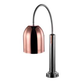 Warmhoudlamp/unit - CaterChef - Chroom & Koper