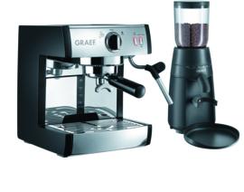 Espressomachine - Graef - set Pivalla ES702 + CM702