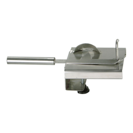 Oesterbreekapparaat - rvs - tafelmodel met afneembaar mes