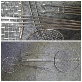 Draadspaan rvs -  zware kwaliteit - 10 t/m 24 cm