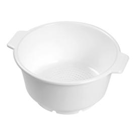 Vergiet - Kunststof wit, alleen bodem perforatie - Ø 36 cm