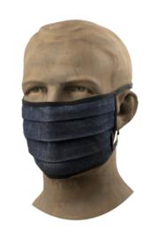 Mondkapje horeca - Classic Blue Denim / hospitality face mask - Chaud Devant