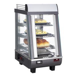 Warmhoudvitrine - Cater Chef - (+30/+90°C)