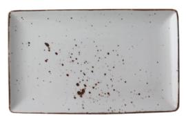 Rustic - schaal r.hoekig 28,5 x 16,5 cm