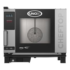 Combisteamer - Unox - XEVC-0511-E1L - ChefTop MindMaps One - 5x 1/1 GN - greep links