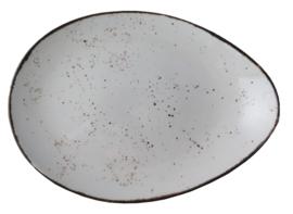 Rustic - schaal ovaal 32,5 x 23,5 cm