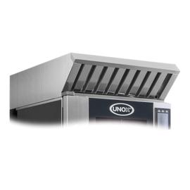 Afzuigkap - Unox XEBHC-HCEU -  rvs met stoomcondensor, voor BakerTop MindMaps ovens