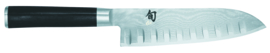 Santoku mes met groeven 18 cm Kai Shun Classic DM-0718
