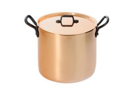 Kookpan hoog koper - 20 cm - Inocuivre - De Buye