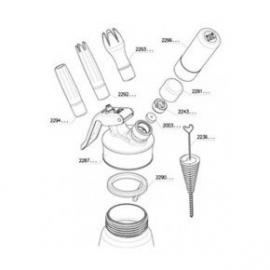 iSi Gourmet Whip +Plus onderdelen