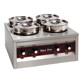Spijzenwarmhoudapparaat - Max Pro - 4 pannen