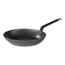 Lyonnaiserpan - Pujadas - plaatstaal - 20-40 cm