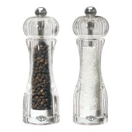 Peper- en zoutmolen - Set van 2 stuks, Acryl