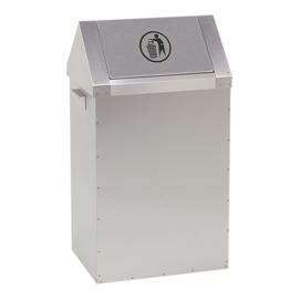 Afvalbakken rvs 18/10 - 2 types