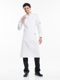 Schort Chaud Devant - Regular Pockets White W75 - L100