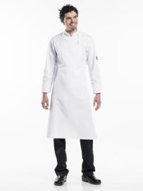 Schort Chaud Devant - White extra wide & no pocket W100 - L100