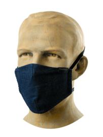 Mondkapje horeca - Comfort Blue Denim / hospitality face mask - Chaud Devant