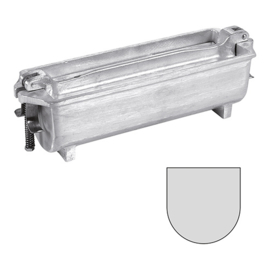 Pate vorm - Gegoten aluminium, halfrond