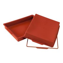 Flexibele bakvorm - Taartvorm rechthoekig - Silikomart - Uniflex