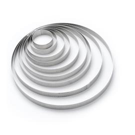 Geperforeerde taartring rond - 2 cm hoog - De Buyer