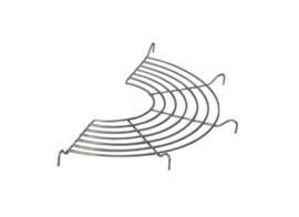 Rooster halfrond tbv wokpan 32 cm - De Buyer