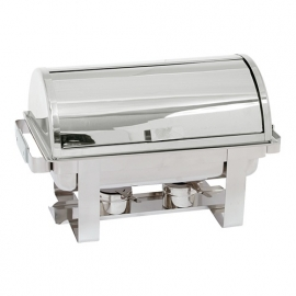 Chafing dish Max Pro met Roll-Top deksel