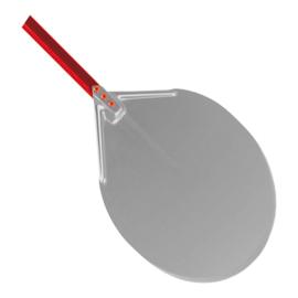 Pizzaschep - geanodiseerd, met aluminium steel