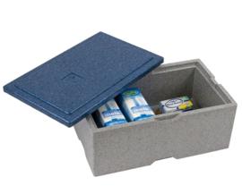 Warmhoudbox - Eurobox transport zonder vakverdeling - 2 maten