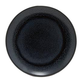 Bord Coup vlak 19 cm - Continental Exotics Black