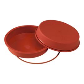 Flexibele bakvorm taart, glad - Uniflex - Silikomart - 3 maten