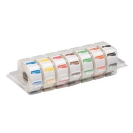 Disp. Makk. verwijderbare stickers 25 mm 7x1000/ds