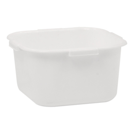 Restbak - Polypropyleen, wit - 8 liter
