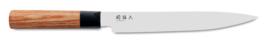 Vleesmes 20 cm Kai Seki Magoroku Red Wood MGR-200L
