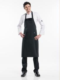 Schort Chaud Devant - Regular Pockets Black W75 - L100
