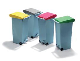 Afvalcontainer - Clipper - 4 kleuren