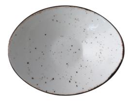Rustic - salsa schaal ovaal 14 cm
