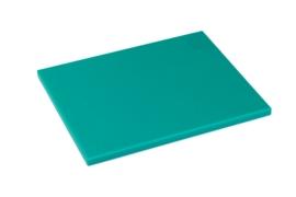 Snijplank Polyethyleen groen - 1/2 - 1/1 GN of 60x40 - met of zonder geul