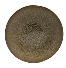 Bord Coup diep 25 cm - Continental Moon - Hazel Brown