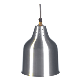 Warmhoudkap - Heat Shade - aluminium of zilver - zonder lamp