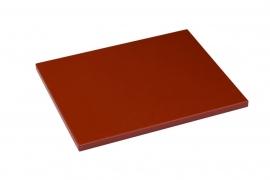Snijplank Polyethyleen bruin - 1/2 - 1/1 GN of 60x40 - met of zonder geul