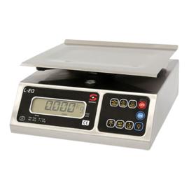 Elektronische weegschaal - 4 kg/grad. 1 gr. & 8 kg/grad. 2 gr. - Sammic