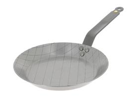 Steakpan plaatstaal - 24 cm - Mineral B - De Buyer