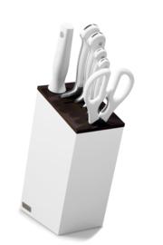 Messenblok 6-delig -  Wüsthof Classic White (versie met broodmes)